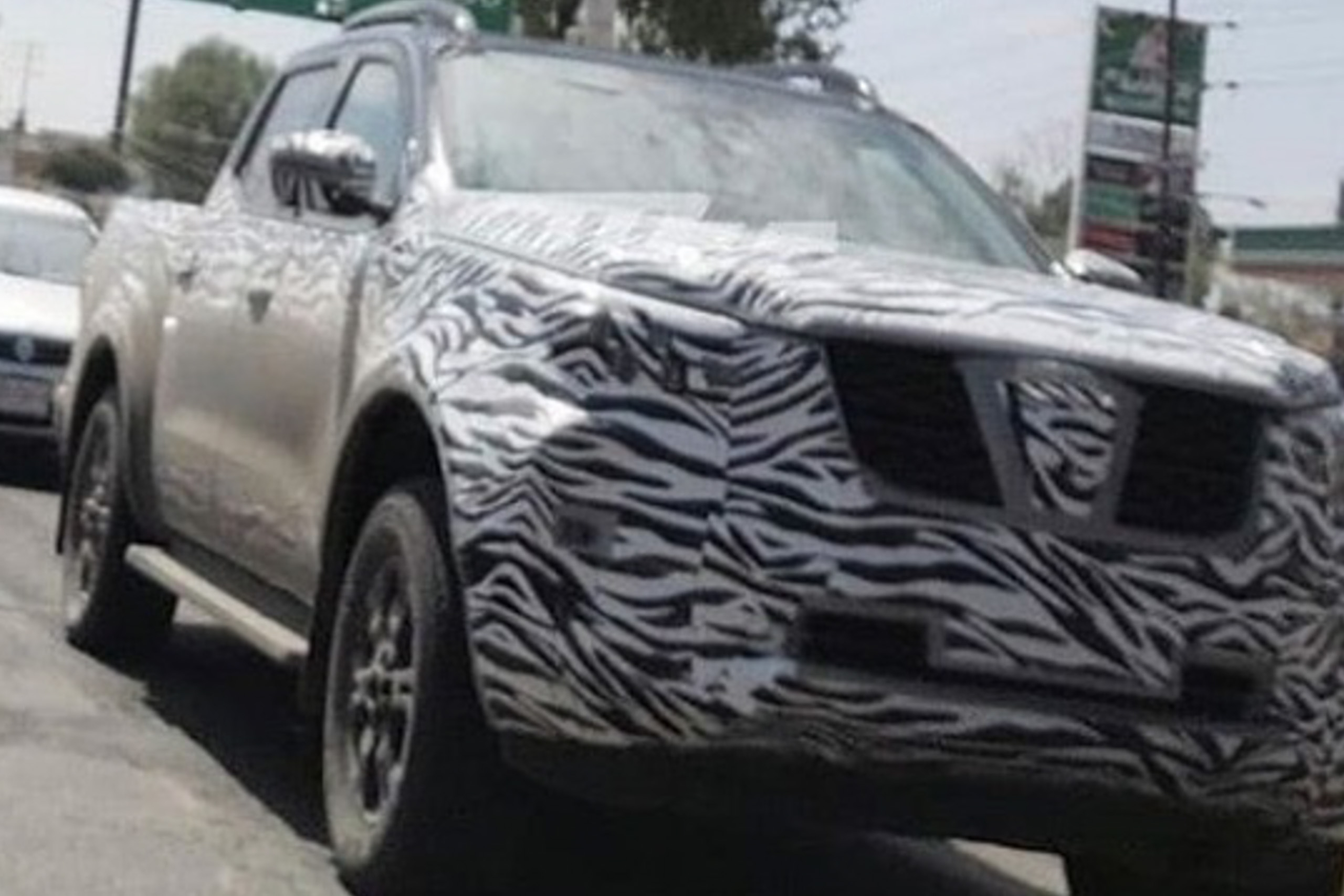 spied is this the 2021 nissan navara pickup